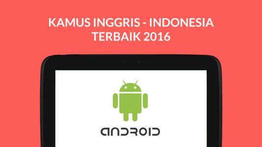 Aplikasi Kamus Inggris Indonesia