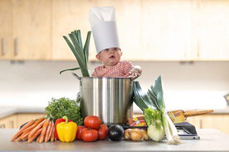 Libatkan Anak dalam Berbelanja Bahan Masakan