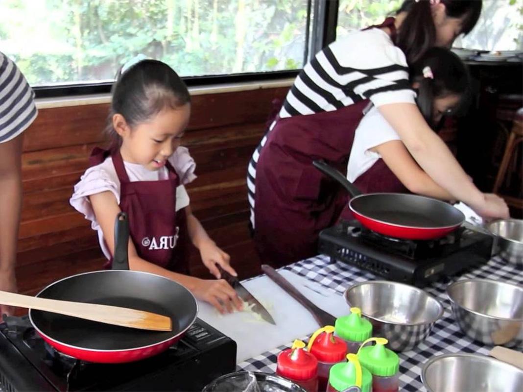 belajar memasak untuk anak-anak