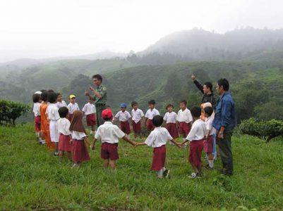 Peran sekolah dan lingkungan