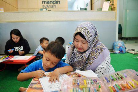 Menggambar Bersama Anak