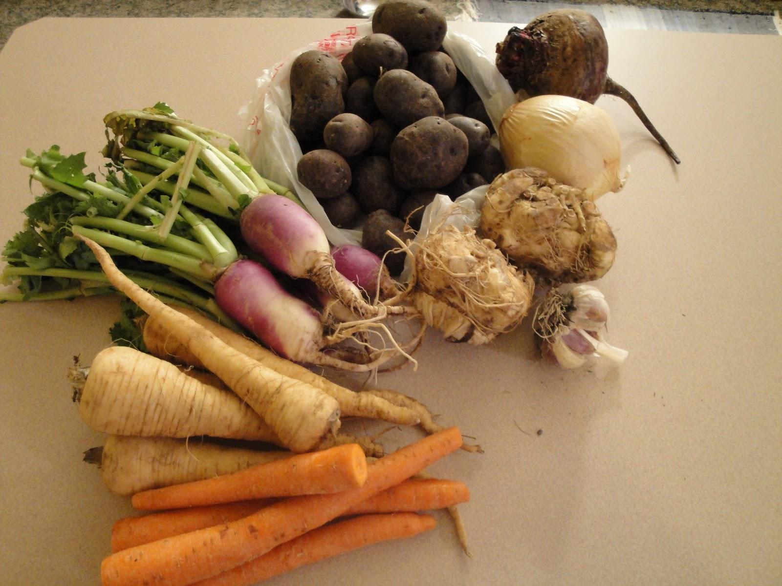 Umbi-umbian dan Sayuran Hijau - berrykitchen.com