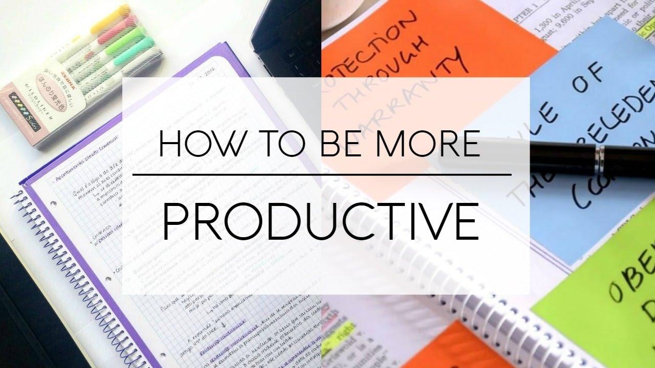 Meningkatkan Produktivitas Belajar